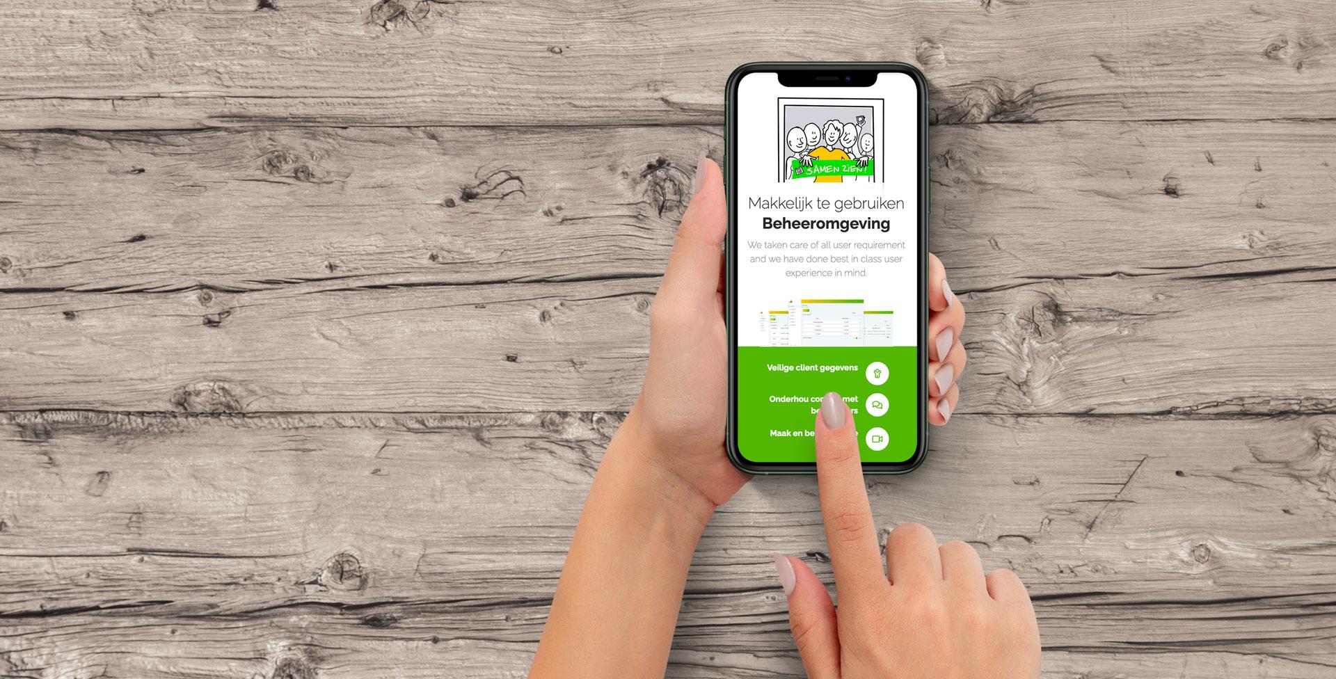 de Marius Meijboom SamenZien app