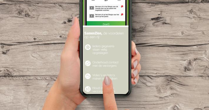 Marius Meijboom SamenZien app mobiel